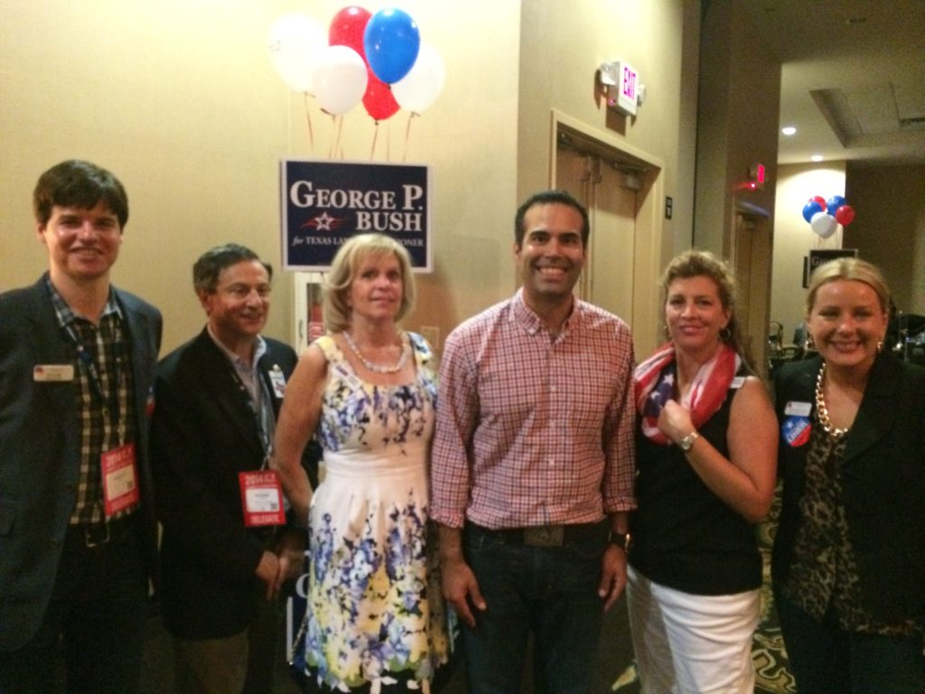 Just ARW members with George P Bush