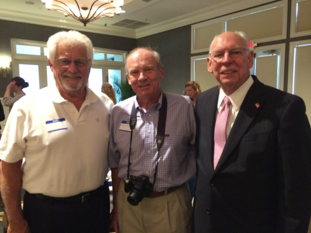 Associate members Joe and Neal with Raphael Cruz at ARW luncheon