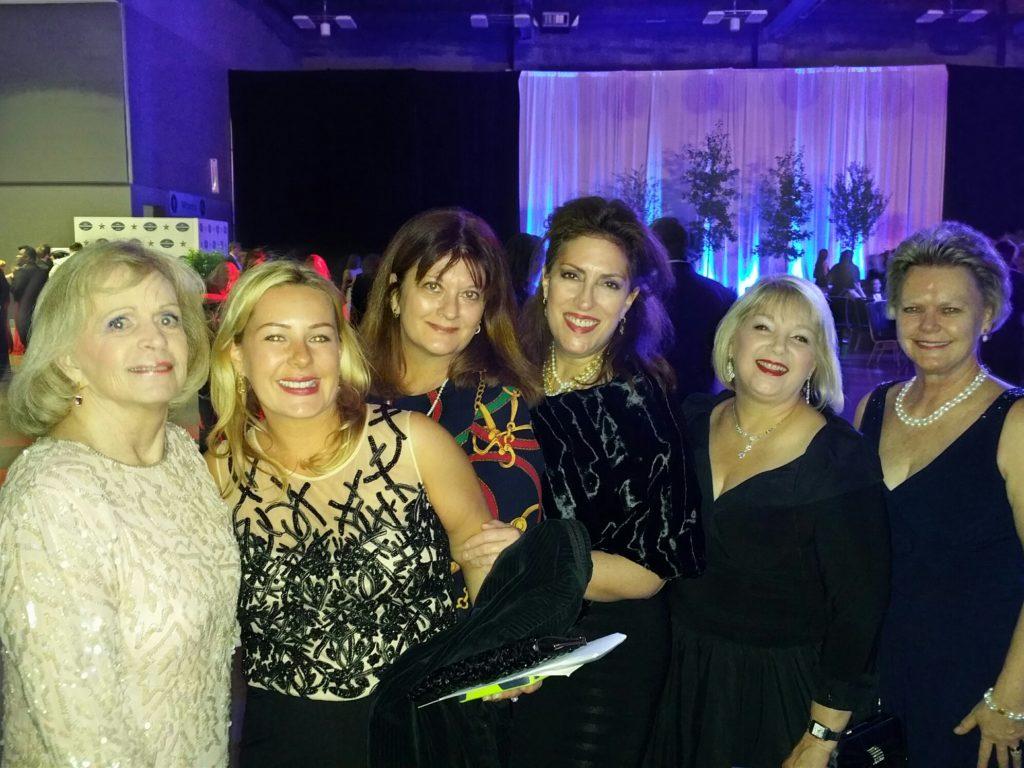 ARW ladies at Gov Abbott's  Inaugural Ball