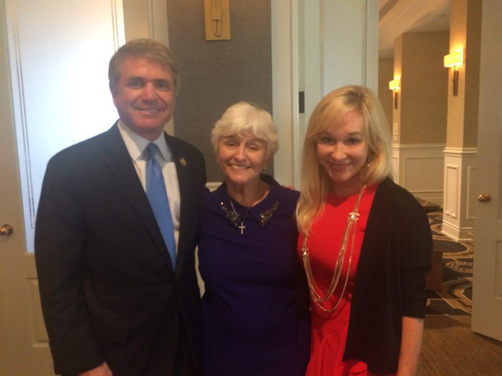 Gretchen with Linda & Congressman McCaul