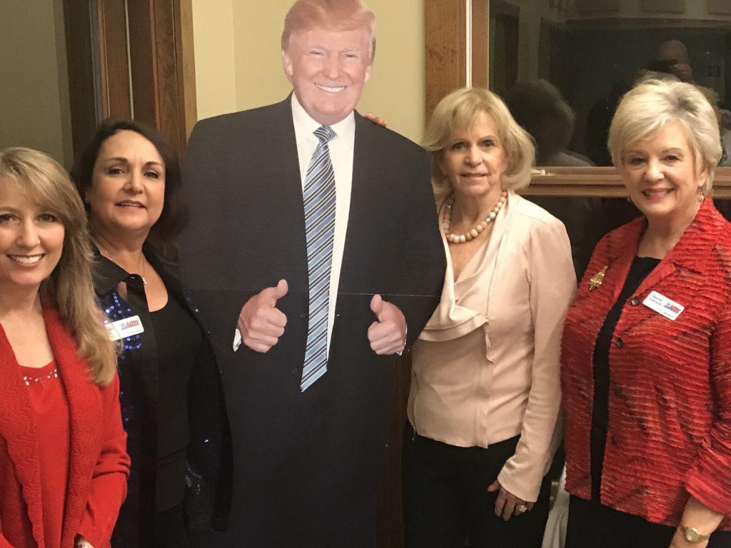ARW ladies Trina, Robbi, Diane & Sharon at Lost Pines RW fundraiser